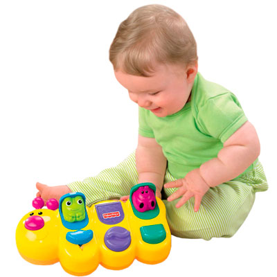 Игрушка Fisher Price Гусеница