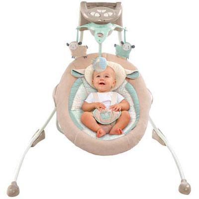 Электронная карусель Ingenuity by Bright Starts InLighten Cradling Swing